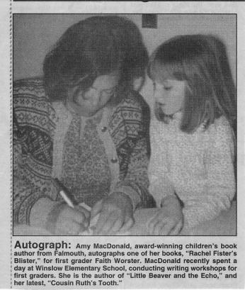 Amy and Faith at booksigning